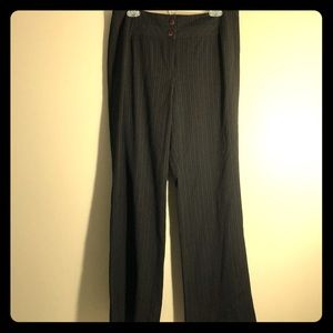TRIBAL TROUSER DRESS PANT BROWN W/ CREAM TAN BLACK